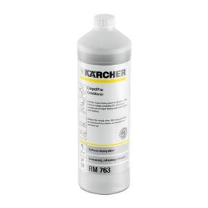 PŁYN DO PŁUKANIA CARPETPRO RM 763 Skuteczny środek do płukania dywanów, wykładzin i tapicerki. Wygładza i zmiękcza włókna oraz wydłuża żywotność dywanu. 50% krótszy czas płukania dzięki kwaśnemu pH. Delikatne włókna nie tracą koloru
